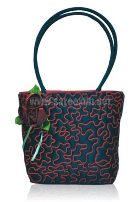 Plastic Tube Handle Handbags