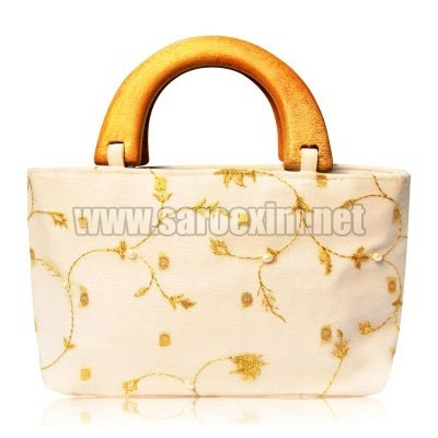Wooden Handle Handbags