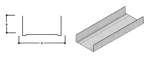 Drywall Partition System : Drywall partition system board protection channel