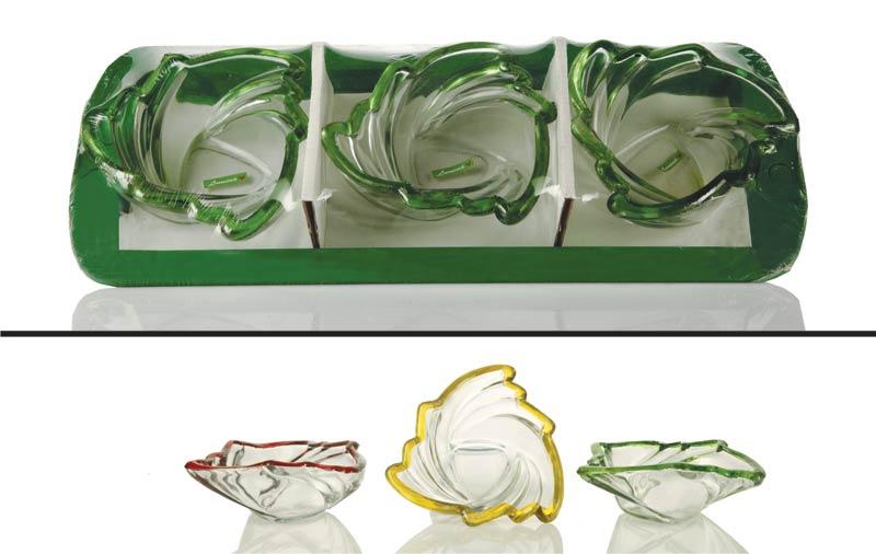 3 Piece Glass Bowl Set