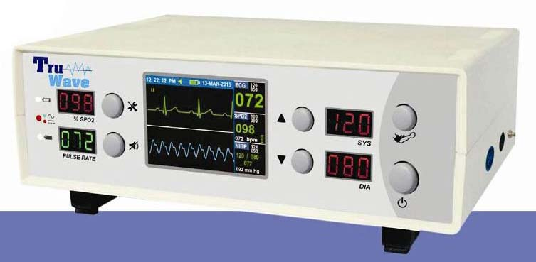 3 Parameter Patient Monitor