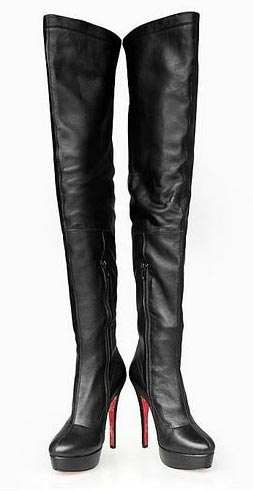 Ladies High Boots Leather