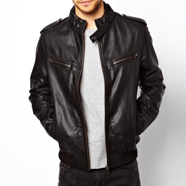 Designer Leather Jackets Mens - Jacket
