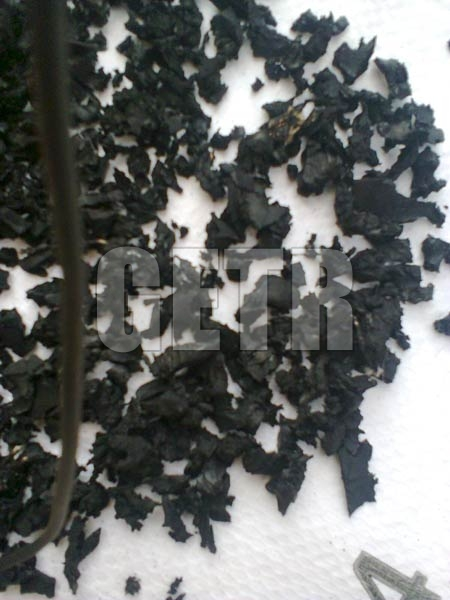 Black Color Rubber Powder 3 - 6 mm