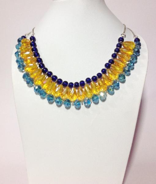 Crystal Bead Necklaces