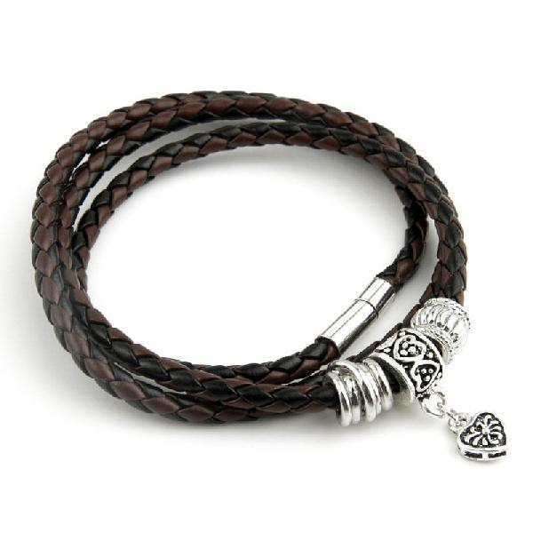 Ladies Leather Bracelet 01