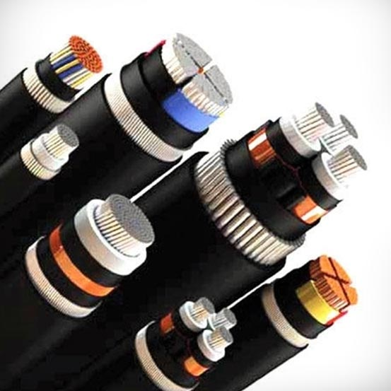 Low Voltage Cabling : Electric power cables low voltage aerial bunch