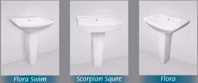 Pedestal Wash Basin 02