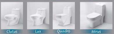 Plain One Piece Toilet