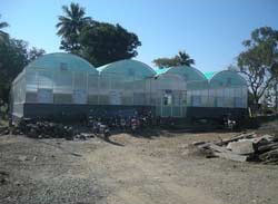 Polycarbonate Control Greenhouse Construction