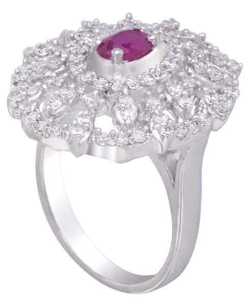 Ladies Silver Rings