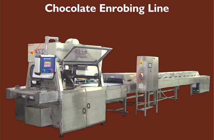 Chocolate Enrobing Line
