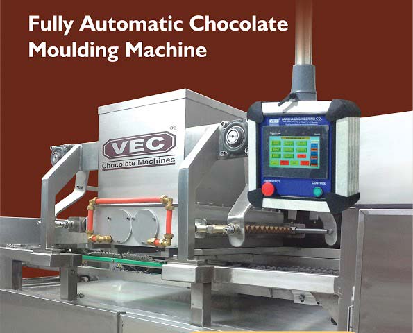 Fully Automatic Chocolate Moulding Machine Manufacturer