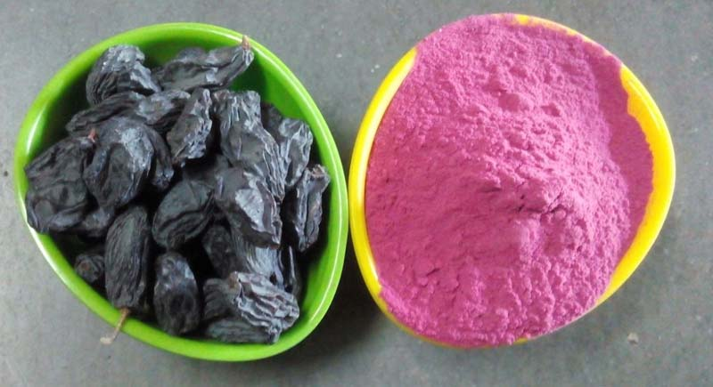 Black Grape Powder