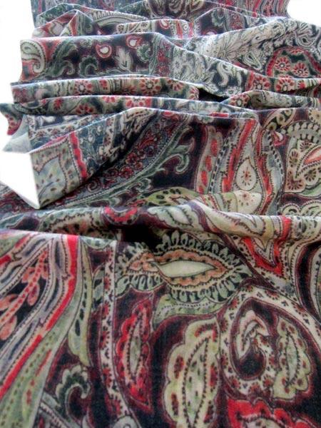 Digital Printed Wool Shawl 02