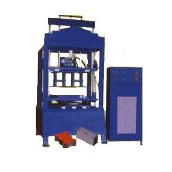 Hollow Block And Pavement Block Making Machine