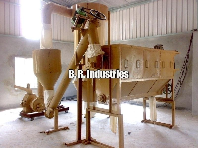 Saw Dust Grinding Plant