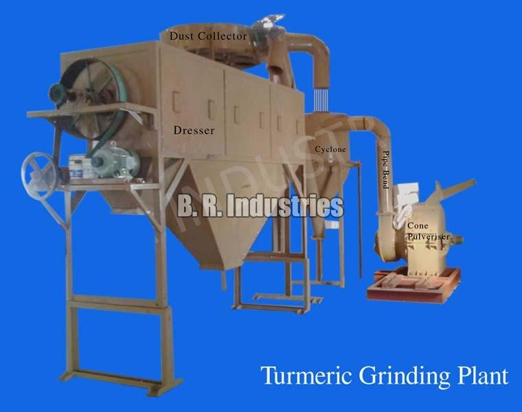 Turmeric Grinding Plant