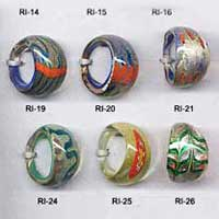 Glass Ring Beads 001