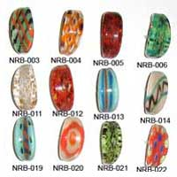 Glass Ring Beads 002