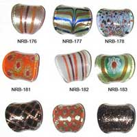 Glass Ring Beads 003