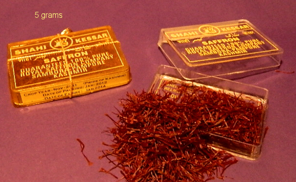 Saffron Packaging Material 02