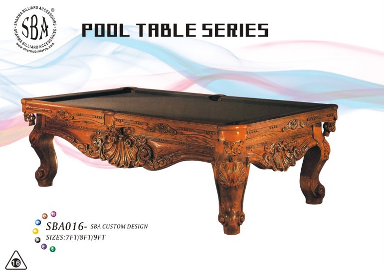 SBA - 016 Custom Design Pool Tables
