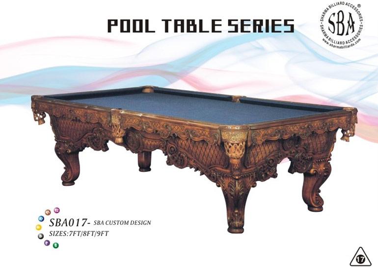 SBA - 017 Custom Design Pool Tables