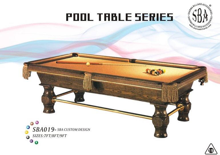 SBA - 019 Custom Design Pool Tables