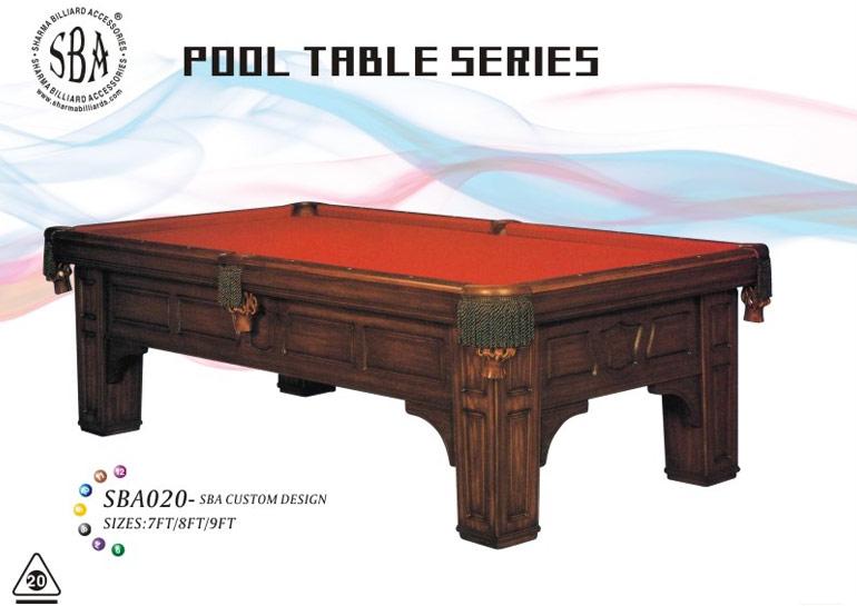 SBA - 020 Custom Design Pool Tables