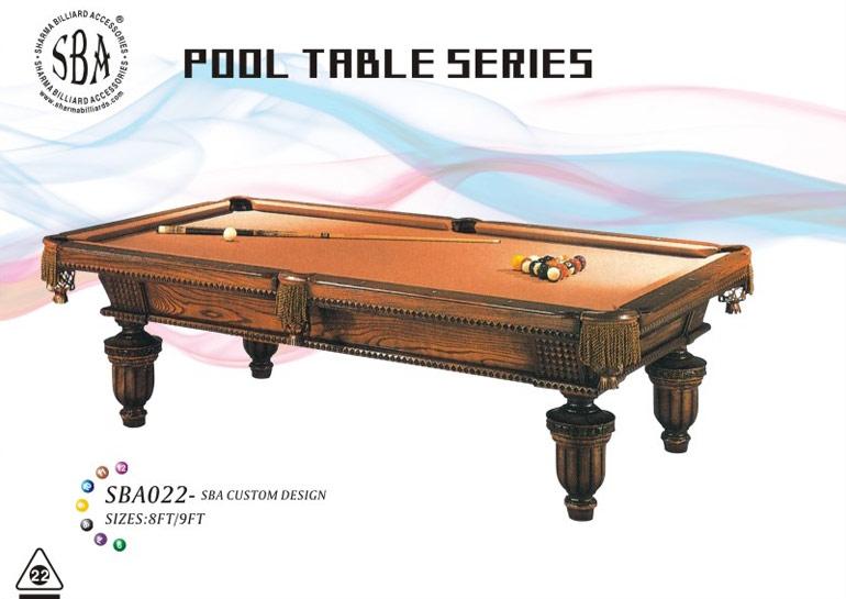SBA - 022 Custom Design Pool Tables