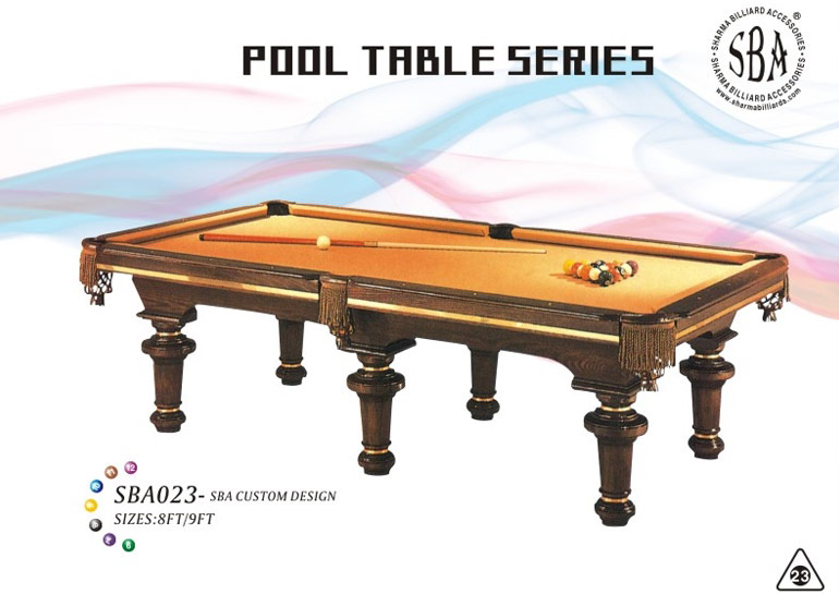 SBA - 023 Custom Design Pool Tables