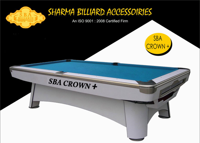 SBA Crown Plus American Style Pool Tables