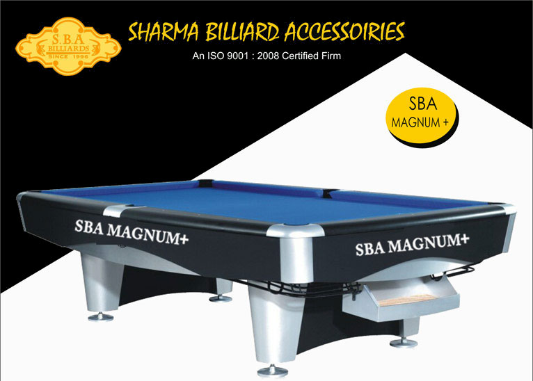 SBA Magnum Plus American Style Pool Tables