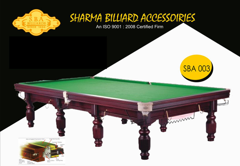 SBA S-003 Snooker Table