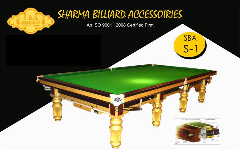 SBA S-1 Snooker Table