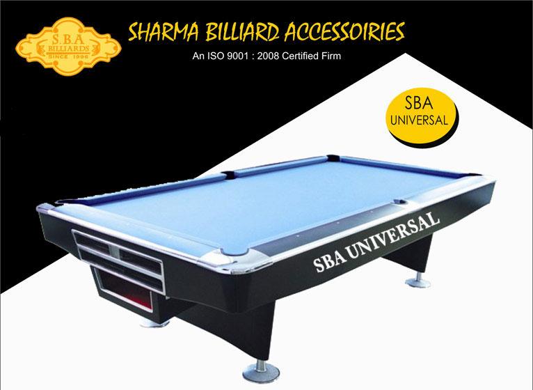 SBA Universal American Style Pool Tables