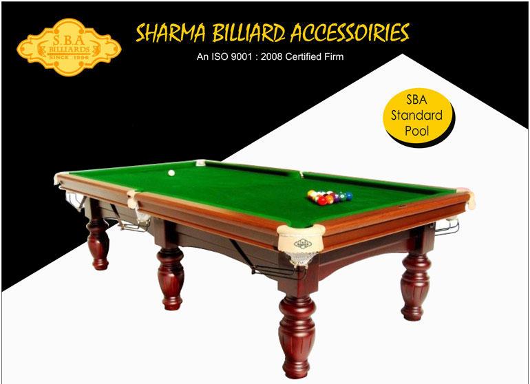 Standard Pool Table