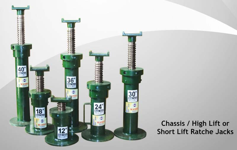 Mechanical Screw Jack For Automobile Purpose Manufacturers