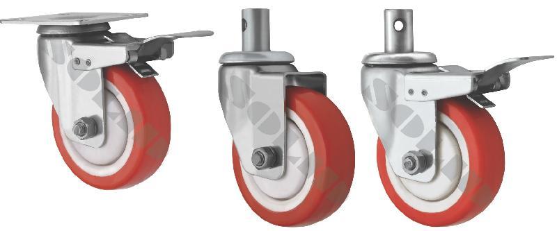 Light Duty Stainless Steel Caster Wheels