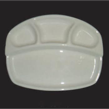 4 Section Compartment Trays