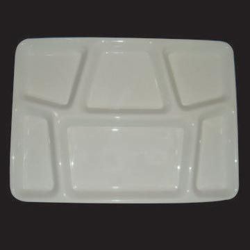 6 Section Compartment Trays