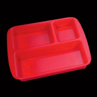 Pav Bhaji Acrylic Plate