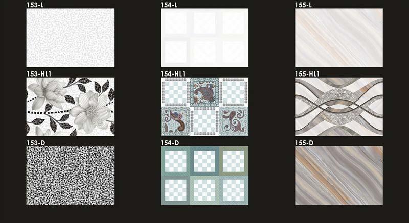 Digital Wall Tiles 300x450mm 02