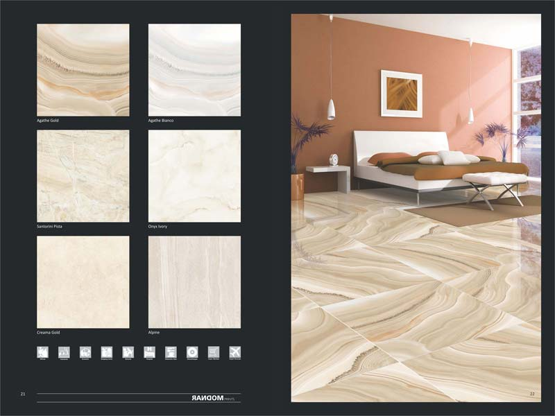 Full Polished Glazed Porcelain Tiles 600X600mm 02