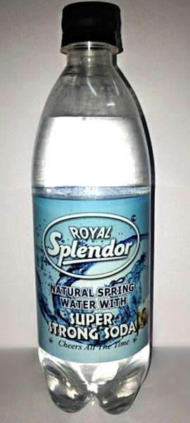 Royal Splendor Super Strong Soda