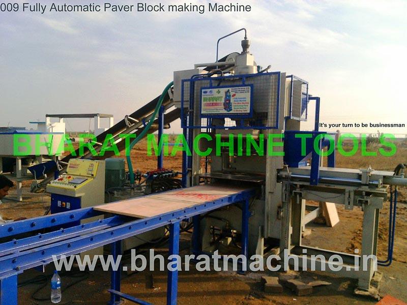 Fully Automatic Paver Block Making Machine
