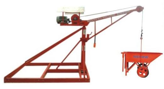 machine lifting