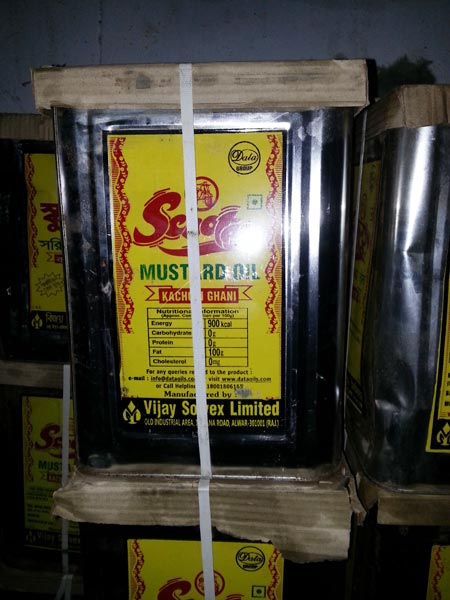 Scooter Mustard Oil
