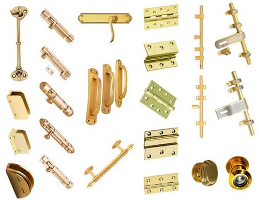 Brass Building Hardware Parts